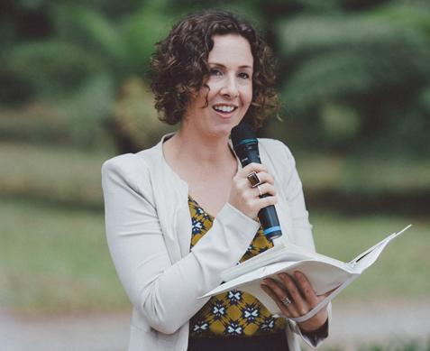 Andrea Calodolce Authorised Civil Marriage Celebrant Sydney NSW