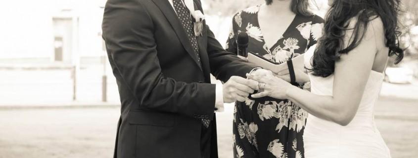 Dawes Point Park Wedding Sydney Harbour - Andrea Calodolce celebrant