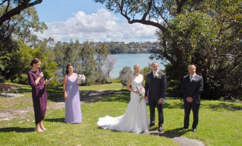 Wedding Darook Park, Cronulla - Andrea Calodolce Celebrant