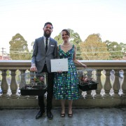 St Peters Town Hall wedding - Andrea Calodolce Celebrant