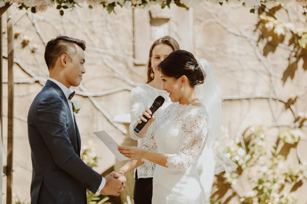 Wedding Vows - Andrea Calodolce Ceremonies - Sydney Celebrant