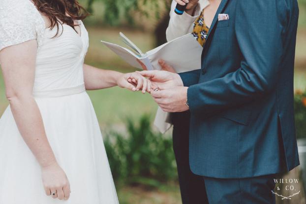 Marriage Ceremony Ring Exchange - Andrea Calodolce Ceremonies - Sydney Celebrant