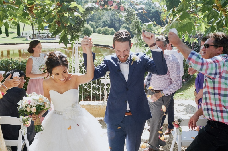 Bride and Groom at end of ceremony - Andrea Calodolce Ceremonies - Sydney Celebrant