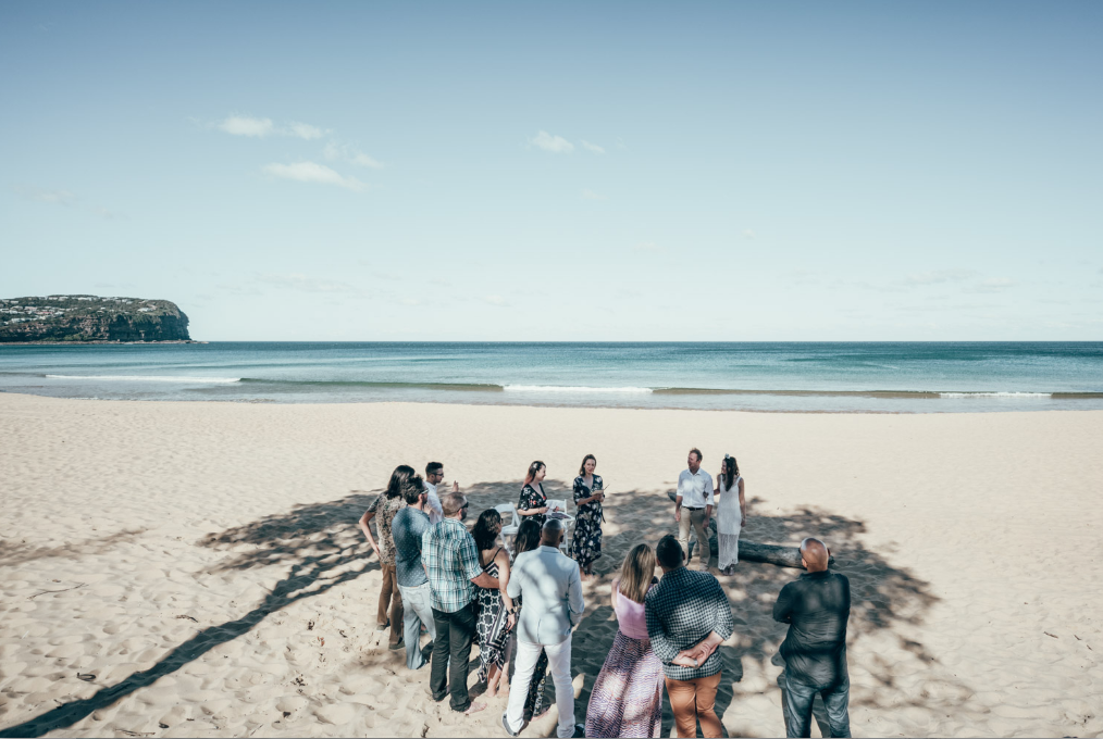 Carine and Jordi's Macmasters Beach NSW Central Coast wedding | Andrea Calodolce Marriage Celebrant Sydney